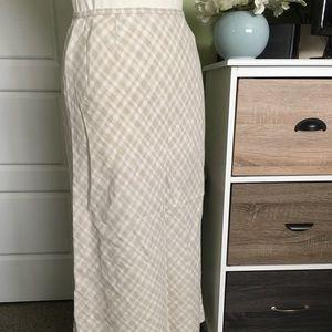 Gap Linen Skirt Size 6